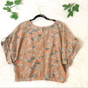 Willow & Clay Floral print Kimono top